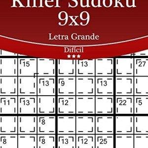 Killer-Sudoku-9x9-Impresiones-con-Letra-Grande-Difcil-Volumen-27-270-Puzzles-Volume-27-0