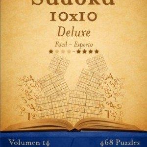 Sudoku-10x10-Deluxe-De-Fcil-a-Experto-Volumen-14-468-Puzzles-Volume-14-0