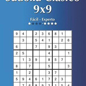 Sudoku-Clsico-9x9-De-Fcil-a-Experto-Volumen-1-276-Puzzles-Volume-1-0