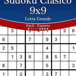 Sudoku-Clsico-9x9-Impresiones-con-Letra-Grande-De-Fcil-a-Experto-Volumen-6-276-Puzzles-Volume-6-0
