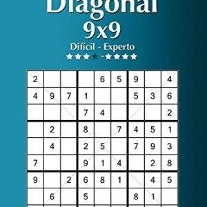 Sudoku-Diagonal-9x9-Difcil-a-Experto-Volumen-6-276-Puzzles-Volume-6-0