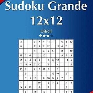 Sudoku-Grande-12x12-Difcil-Volumen-18-276-Puzzles-Volume-18-0