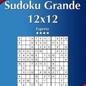 Sudoku-Grande-12x12-Experto-Volumen-19-276-Puzzles-Volume-19-0