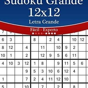 Sudoku-Grande-12x12-Impresiones-con-Letra-Grande-De-Fcil-a-Experto-Volumen-20-276-Puzzles-Volume-20-0