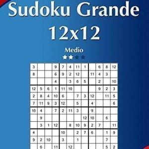 Sudoku-Grande-12x12-Medio-Volumen-17-276-Puzzles-Volume-17-0