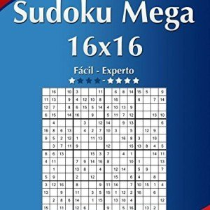Sudoku-Mega-16x16-Fcil-ao-Extremo-Volume-29-276-Jogos-0