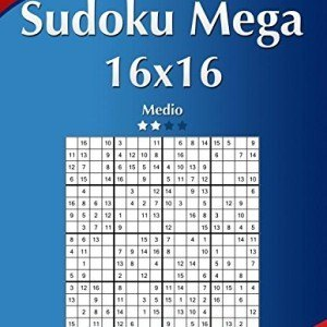 Sudoku-Mega-16x16-Medio-Volumen-31-276-Puzzles-Volume-31-0
