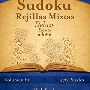 Sudoku-Rejillas-Mixtas-Deluxe-Experto-Volumen-61-476-Puzzles-Volume-61-0